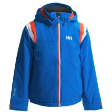 Helly Hansen Velocity Jacket - Waterproof, Insulated (For Kids and Youth) in Cobalt Blue - Closeouts