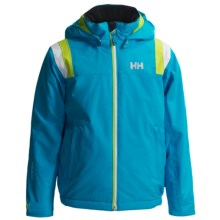 Helly Hansen Velocity Jacket - Waterproof, Insulated (For Kids and Youth) in Frozen Blue - Closeouts