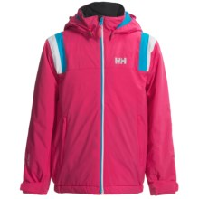 Helly Hansen Velocity Jacket - Waterproof, Insulated (For Kids and Youth) in Magenta - Closeouts