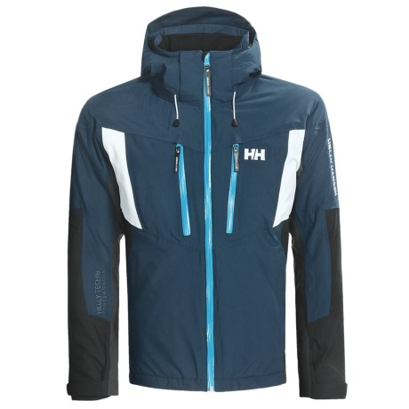 Helly Hansen Velocity Jacket - Waterproof, Insulated (For Men) in Arctic Navy