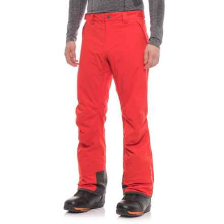 Helly Hansen Velocity Pants - Waterproof, Insulated (For Men) in Alert Red - Closeouts