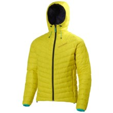 Helly Hansen Verglas Hooded Down Insulator Jacket - 700 Fill Power (For Men) in Bright Yellow - Closeouts