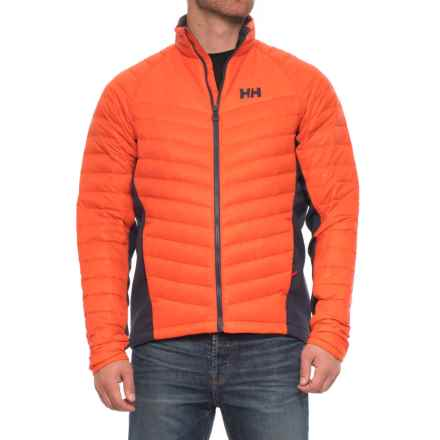 Helly Hansen Verglas Hybrid Insulator Jacket - 700 Fill Power (For Men) in Flame - Closeouts