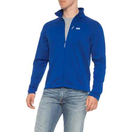 Helly Hansen Vertex Stretch Midlayer Jacket (For Men) in Olympian Blue - Closeouts