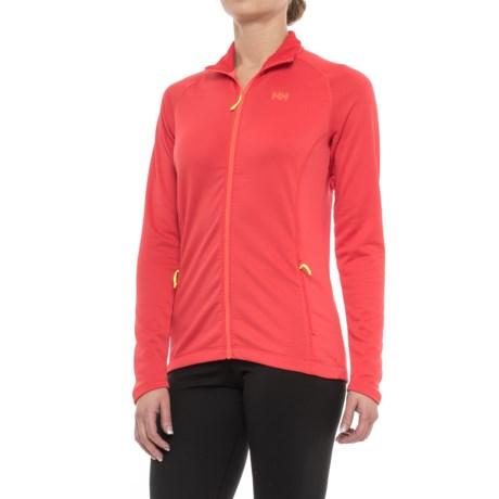 Helly Hansen Vertex Stretch Midlayer Jacket (For Women) in Cayenne