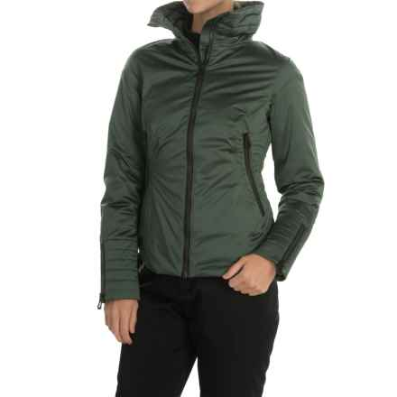 Helly Hansen Victorious PrimaLoft® Ski Jacket - Waterproof, Insulated, RECCO® (For Women) in Rock - Closeouts