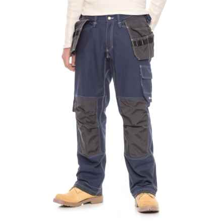Helly Hansen Visby Construction Pants (For Men) in 540 Blue/Charcoal - Closeouts