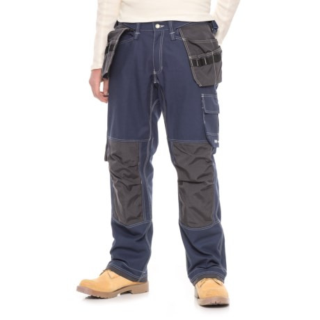 Helly Hansen Visby Construction Pants (For Men) in 540 Blue/Charcoal