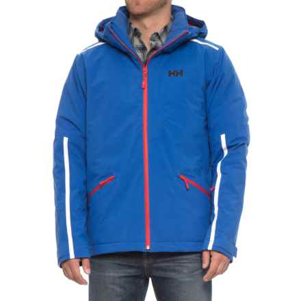 Helly Hansen Vista PrimaLoft® Ski Jacket - Waterproof, Insulated, RECCO® (For Men) in Olympian Blue - Closeouts