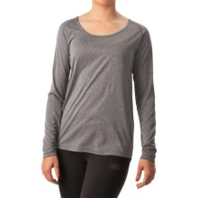 Helly Hansen VTR Core Shirt - UPF 40, Long Sleeve (For Women) in Ebony Heather - Closeouts