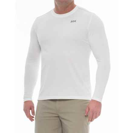 Helly Hansen VTR Versatile Training Shirt - UPF 40, Long Sleeve (For Men) in White - Closeouts