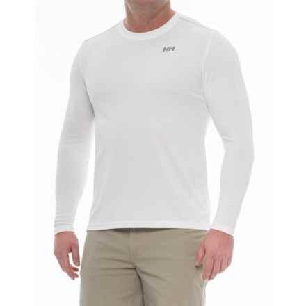 Helly Hansen VTR Versatile Training Shirt - UPF 40, Long Sleeve (For Men) in White - Closeouts