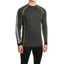 Helly Hansen Warm Ice Base Layer Top - Crew Neck, Long Sleeve (For Men) in Ebony - Closeouts