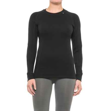 Helly Hansen Warm Ice Base Layer Top - Merino Wool, Crew Neck, Long Sleeve (For Women) in Black - Closeouts
