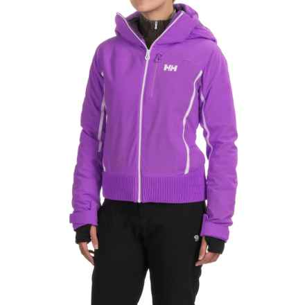 Helly Hansen Wildcat PrimaLoft® Jacket - Waterproof, Insulated (For Women) in Sunburned Purple - Closeouts