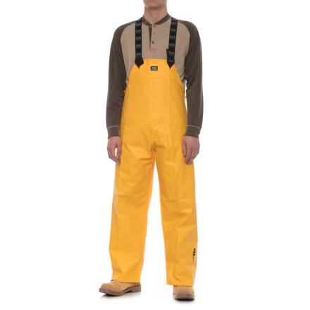 Helly Hansen Yarmouth PVC Work Pants - Waterproof (For Men) in Yellow - Closeouts