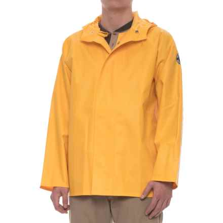 Helly Hansen Yarmouth PVC Work Rain Jacket - Waterproof (For Men) in Yellow - Closeouts