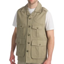Hemingway Safari Safari Vest (For Men) in Tan - Closeouts