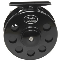 Hendrix Outdoors HO1 Aluminum Fly Fishing Reel - 5-8wt in Black