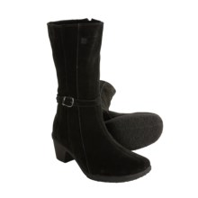 Henri Pierre by Bastien Canelly Boots - Waterproof Suede (For Women) in Black - Closeouts
