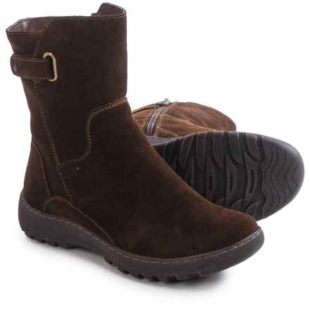 Henri Pierre by Bastien Jano Boots - Waterproof, Suede (For Women) in Brown - Closeouts