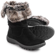 Henri Pierre by Bastien Jaya Boots - Waterproof, Wool Lined, Slip-Ons (For Women) in Black - Closeouts
