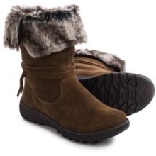 Henri Pierre by Bastien Jaya Boots - Waterproof, Wool Lined, Slip-Ons (For Women) in Brown - Closeouts