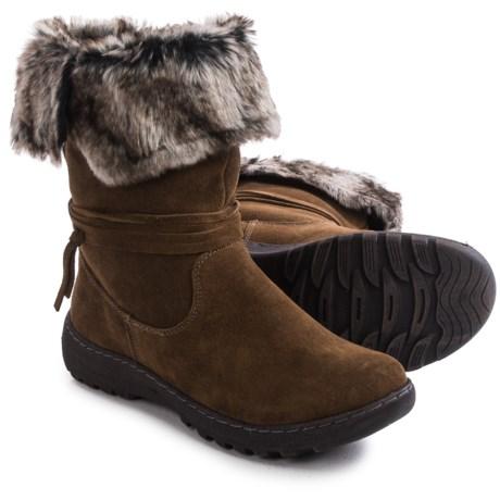 Henri Pierre by Bastien Jaya Boots - Waterproof, Wool Lined, Slip-Ons (For Women)