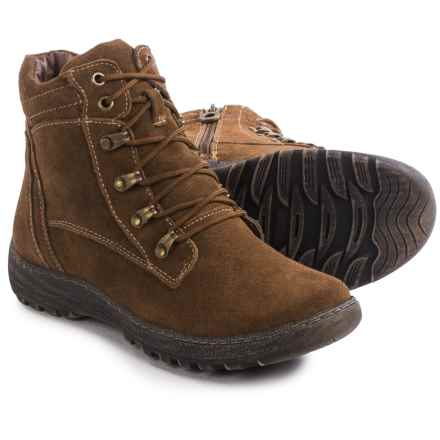 Henri Pierre by Bastien Joana Boots - Waterproof, Insulated, Wool-Lined (For Women) in Brown - Closeouts