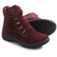 Henri Pierre by Bastien Joana Boots - Waterproof, Insulated, Wool-Lined (For Women) in Burgundy - Closeouts
