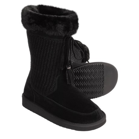 Henri Pierre by Bastien Lison Boots (For Women) in Black