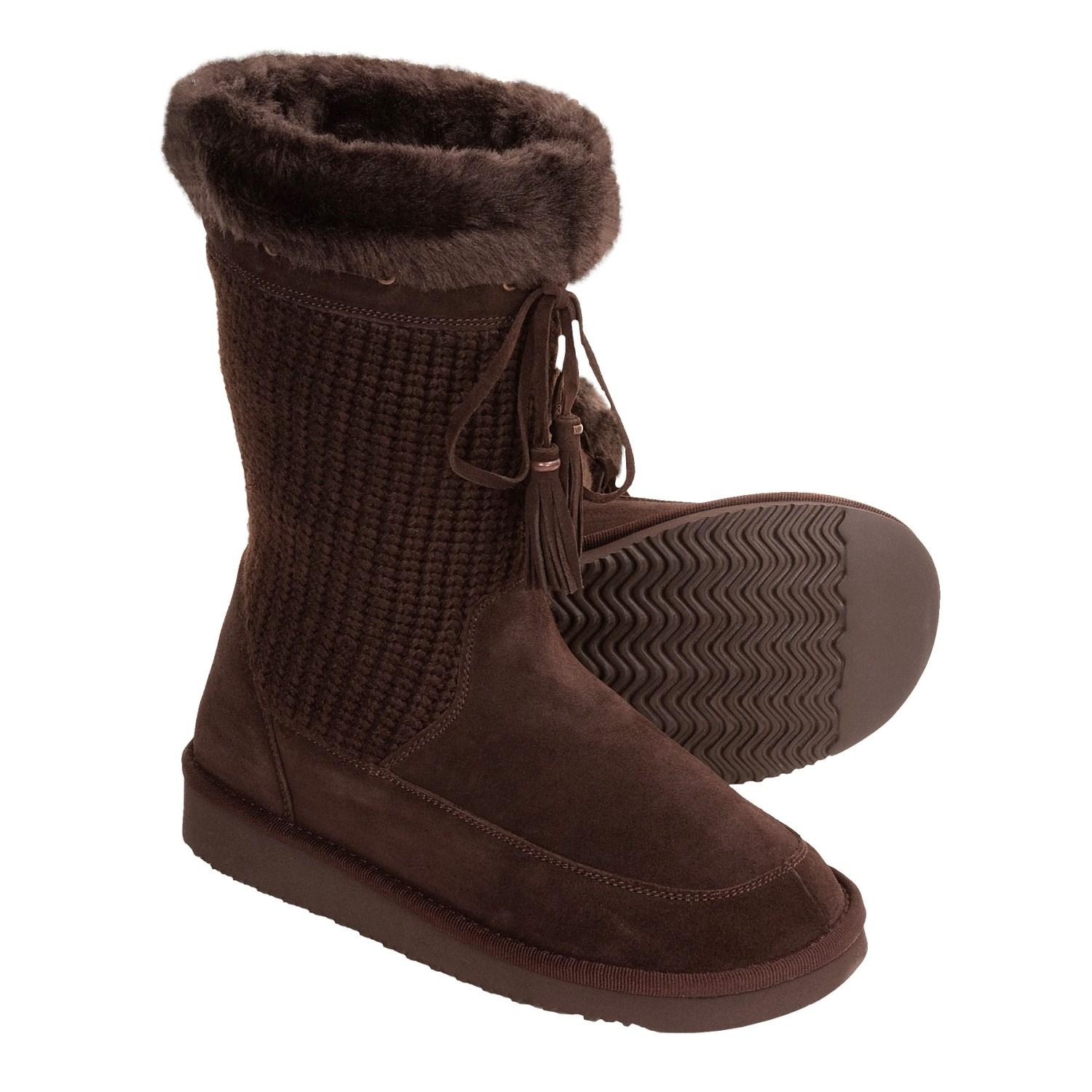 Henri Pierre by Bastien Lison Boots (For Women) in Chocolate