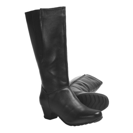 Henri Pierre by Bastien Marissa Winter Boots (For Women) in Dark Brown