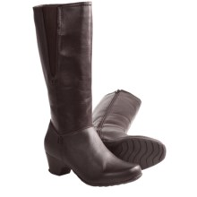 Henri Pierre by Bastien Marissa Winter Boots (For Women) in Dark Brown - Closeouts