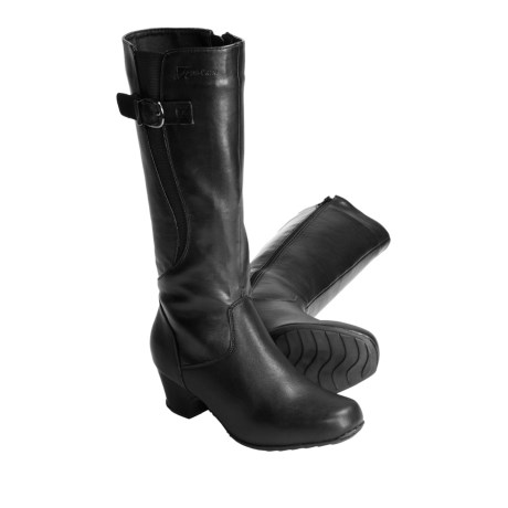 Henri Pierre by Bastien Nadege Boots - Leather (For Women) in Black