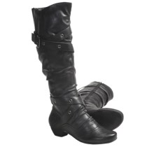 Henri Pierre by Bastien Nadia Winter Boots (For Women) in Black - Closeouts