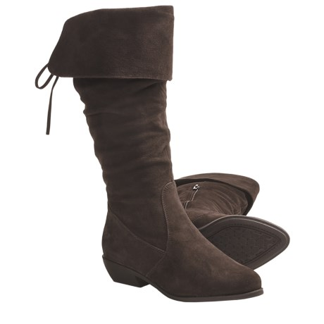 Henri Pierre by Bastien Rena Winter Boots - Suede (For Women) in Godiva