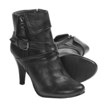 Henri Pierre by Bastien Roxane Boots (For Women) in Black - Closeouts