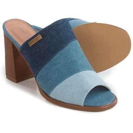 Henry Ferrera Open-Toe Sandals (For Women) in Blue - Closeouts