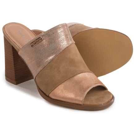 Henry Ferrera Open-Toe Sandals (For Women) in Champagne - Closeouts