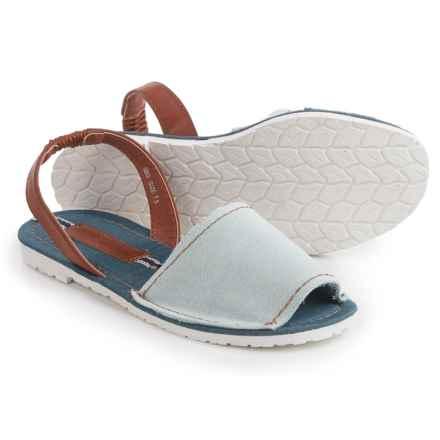 Henry Ferrera Open-Toe Slingback Sandals (For Women) in Blue - Closeouts