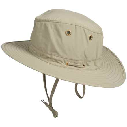 Henschel 10 Point Booney Hat - UPF 50+ (For Men) in Tan - Closeouts