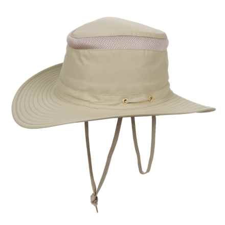 Henschel 10 Point Mesh Booney Hat - UPF 50+ (For Men) in Khaki - Closeouts
