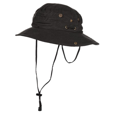 Henschel Expedition Oilcloth Hat (For Men) in Black - Closeouts 4dad578f5306
