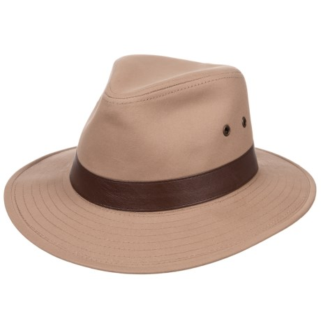 Henschel Outback Hat (For Men) in Khaki