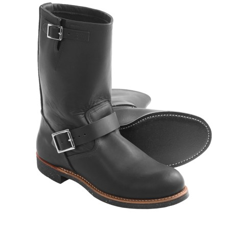 Heritage Harness Engineer Boots - Leather, Factory