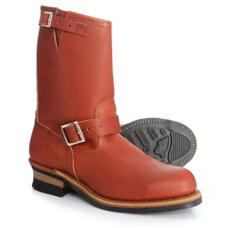 Heritage Harness Engineer Boots - Steel Safety