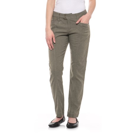 Herringbone Discovery Pencil Pants - UPF 50+ (For Women)