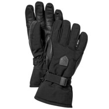 Hestra Alpine Classic Gloves - Waterproof, Insulated (For Men and Women) in Black - Closeouts