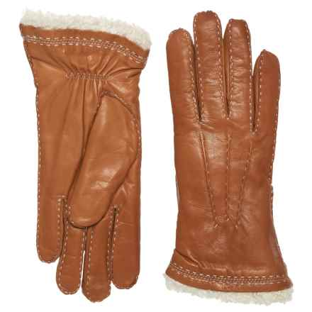 Hestra Claire Lambskin Gloves (For Women) in Cork - Closeouts